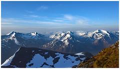 In a Big Country (Free.heel) Tags: aonachbeag mamores glencoe lochaber highlandscotland scotland spring nikond810 nikkor2485mmf3545gedvrlens sgurramhaim binneinmor bideannambian