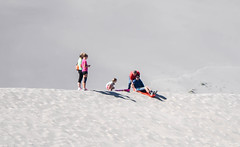 The send off (maytag97) Tags: maytag97 nikon d750 tamron 150600 150 600 bruneau sand dune idaho people outdoor family fun play sled