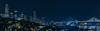 key avenue skyline (pbo31) Tags: sanfrancisco california nikon d810 color night dark black urban january winter 2018 boury pbo31 city bayview district skyline salesforce transamerica over view blue panorama large stitched panoramic baybridge 80 bridge