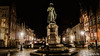 A night in Bruges (11) (Lцdо\/іс) Tags: brugge bruges belgique belgium belgie night janvaneyck square statue lцdоіс nightcity city citytrip lights beauty town voyage decembre december 2017