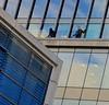 Lines (Edinburgh Photography) Tags: windows reflections men angles lines building edinburgh nikon d7000