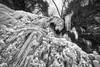 Ganoga Detail Vignette No. 01, 2018.01.10 (Aaron Glenn Campbell) Tags: rgsp rickettsglen statepark fairmounttownship luzernecounty pennsylvania ganogaglen fallstrail hiking outdoors nature optoutside winter snow ice frozen pawaterfalls waterfall ganogafalls 3xp ±1ev hdr macphun aurorahdr2017 nikcollection colorefexpro viveza on1effects sony a6000 ilce6000 mirrorless rokinon 12mmf2ncscs wideangle primelens manualfocus emount tiffen cpfilter circularpolarizer