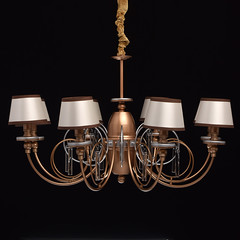 Lustre Elegance Or 8 X 40W (emmanuel_delahaye) Tags: lustres mobilier deco mwlight recollection decointerior interiordesign design home luminaires suspensions l