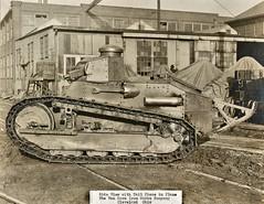 Small tank built by Van Dorn Iron Works, Cleveland, OH 1918 NARA165-WW-313A-055 (SSAVE w/ over 9 MILLION views THX) Tags: ww1 worldwari tank 1918 vandornironworks clevelandoh iron factory industry armour