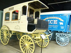 AMBULANCE (Beadmanhere) Tags: wyoming cheyenne rodeo museum cars cowboys
