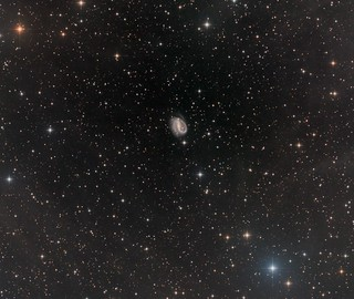 NGC7479 - a barred spiral galaxy in Pegasus