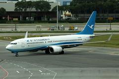 Boeing 737-800 B-5659 (egbjdh) Tags: davehaines january2018 wsss changi singapore