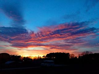 Sunset Fairmont, NC.