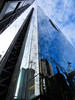 Leadenhall Building, London, England (duaneschermerhorn) Tags: architecture building skyscraper structure highrise architect modern contemporary modernarchitecture contemporaryarchitecture reflection reflective reflectivebuilding glass windows glassclad mirror distortion