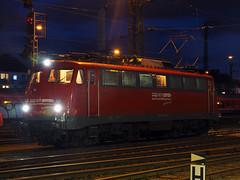 BTE 110 491 (jvr440) Tags: trein train spoorwegen railways railroad münster hbf hauptbahnhof br 110 bügelfalte bte bahntouristikexpress