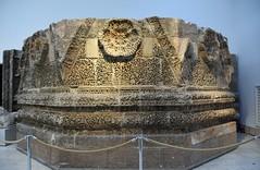 Facade of Qasr Mshatta, Umayyad, 8th cent.; Pergamon Museum, Berlin (2) (Prof. Mortel) Tags: germany berlin pergamonmuseum islamic umayyad mshatta