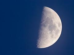 Occultation of Aldebaran, 2018-02-23 (herbraab) Tags: moon aldebaran alphatauri occultation canoneos550d 1301200mmrefractor star night sky astronomy