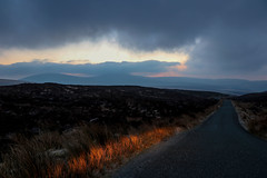 A Wicklow  road (A Costigan) Tags: skyclouds sky clouds road wicklow outdoor military canon ireland irish