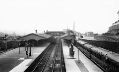 cornwall - truro station gwr looking east c1910 (johnmightycat1) Tags: railway gwr station cornwall