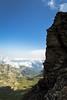 Tower (Serious Andrew Wright) Tags: switzerland bern interlaken lauterbrunnen murren schilthorn alps cliff crag mountains ridge horizon cloud clear summer