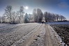 Cold and Sunny (++sepp++) Tags: bayern deutschland graben lechfeld länder landschaft landscape landschaftsfotografie sonnig sunny gegenlicht germany bavaria backlight backlit schnee snow bäume trees