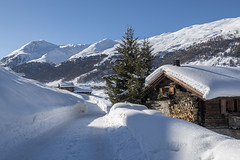 The snow is home... (quanuaua) Tags: ifttt 500px winter snow snowy mountain range cold temperature ski track alps valtellina livigno resort baita waltellina mountains chalet