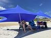 (kamphora) Tags: topsailisland northcarolina vacation beach otenticksunshade cris reading beachchairs beachwagon chillin