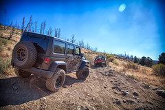 Miller Jeep Trail (Jeff D. Muth) Tags: millerjeeptrail jeepwrangler jeepwranglerunlimited jeep jeeptrail lospadresnationalforest jimmy chevrolet k5 lockwood lockwoodvalley lockwoodcreek lockwoodpeak