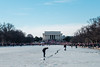 Yup, that's a crack! (ep_jhu) Tags: 2018 x100f classicchrome washington leaning antitrump lincolnmemorial rally dc fujifilm crack march womensmarch fuji reflectingpool ice protest frozen districtofcolumbia unitedstates us