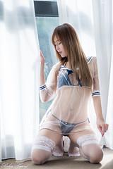 DSC_1779 (Robin Huang 35) Tags: 黃艾比 abbie 白金花園酒店 水手服 內衣 旅拍 人像 portrait lady girl nikon d810