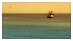 Fisherman and the sea (Heinze Detlef) Tags: fischer kutter fischerboot ostsee meer wasser wellen fischen weite