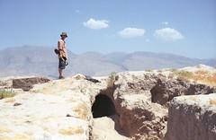 5 (AnyaDavydova) Tags: tajikistan panjakent archaeological expedition excavations nikonfm3a agfavista turkestanrange