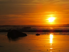 Hug Point at Pacific Coast in OR (Jeff Hollett in Vancouver, WA) Tags: hugpointstatepark oregon pacificcoast beach ocean northwest sunset