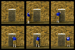 2018_01_26_backyard_door _DP84804 20180126-84804 (dpowersdoc) Tags: montage door brick brickwall confusion stupidity noentry donotenter confused