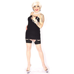 home17177 (Ann Drogyny) Tags: shoes legs heels crossdress crossdresser crossdressing cd tv tg ts transvestite transgender transsexual tranny tgirl glamour pinup mature cute sexy stockings nylons suspenders garters