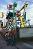 Uplifted (geowelch) Tags: toronto dupontstreet urbanfragments urbanlandscape heavymachinery street streetlevelphoto cherrypickers lift candid sonya6000 sigma19mm28exdn