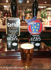 January 29th, 2018 Today's Tipple - Loddon Reading Best (karenblakeman) Tags: baroncadogan pub caversham uk beer ale loddonbrewery readingbest binghamsbrewery coffeestout 2018pad 2018 january reading berkshire