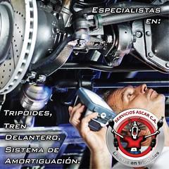 Servicios Ascar C.A. (Social Network Development) Tags: venezuela caracas miranda guatire guarenas reparación auto carreteras tripoide trendelantero mecanica reparacion followme siguemeytesigo sigueme muñones amortiguadores amortiguacion servicio lideresentripoide servicoascar