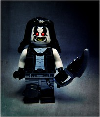 Main Man (LegoKlyph) Tags: lego custom mini figure brick block lobo comic book dc comics superman batman biker fragg