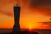 Rising Sun (aotaro) Tags: jogashima lighthouse kanagawa awasaki ocean sunrise sky seascape waves waitingforthesunrise japan sea