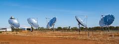 Windorah Solar Farm (jasonsulda) Tags: windorah solar farm country town queensland dish dishes power plant outback central australia desert community landscape