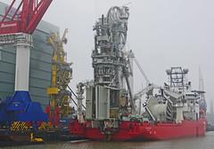SEVEN OCEANS (kees torn) Tags: sevenoceans offshore huisman huismanschiedam wiltonhaven schiedam damenshiprepair