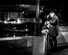 Love is in the air (Henka69) Tags: streetphotography candid people monochrome prague praha