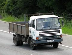 N452 GGO (Nivek.Old.Gold) Tags: 1995 leyland daf fa 45150 turbo 08 tipper gacornwell ely topsoil woodmulch compost