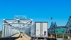 I-20 at Mississippi River, Vicksburg (InSapphoWeTrust) Tags: louisiana mississippi northamerica usa unitedstates unitedstatesofamerica vicksburg us