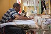 The Weaver - 19th September 2017 (princetontiger) Tags: ethiopia street streetphotography streetphotograpghy alternativeview addisababa weaver cloth weave weft loom shiromeda dorze handwoven fabric material