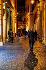 Roma (Emre Saylan) Tags: italy lights streetphoto streetphotography street night mirrorless fujifilm fujix fuji traveller travel roma