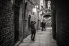 Backstreet shooting........ (Dafydd Penguin) Tags: backsteet shot shooting shoot photo candid tourist back street raw streets city urban living alleyway alley way el born barcelona spain catalunya catalonia blackandwhite blackwhite black white mono monochrome bw leica m10 7artisans f11
