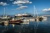 Porto di Casamicciola (Nunzio Pascale) Tags: polarizzatore porto barche medmar traghetto nuvole d90nikon nikkor18200 banchina ischia casamicciola riflessi blue blu