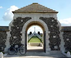Tyne Cot (radio53) Tags: wwi tynecot cemetery belgium western front cycling bicycle touring vlaanderen flanders