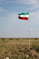 Worse for wear, but holding its position - Explored (RPahre) Tags: paloalto battleofpaloalto mexicanamericanwar flag paloaltobattlefieldnationalhistoricalpark texas mexico