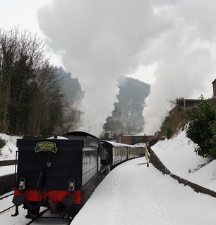 Llangollen Steam Railway - The Wedding Belle