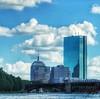 Boston skyline (sample). (Fotofricassee) Tags: bridge train t river charles skyline boston