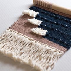 StockWorkspace-14 (beckytheRD) Tags: gartencraft wallhanging boho fiberart frameloom frameloomweaving handwoven handmade tapestry wallart walldecor wallweave weaving
