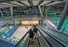 Heathrow airport escalator ([s e l v i n]) Tags: airport people heathrowairport heathrow gopro picturesfromgoprocamera goprocamera travel london uk unitedkingdom britain travellondon picturesoflondon londontourism ©selvin